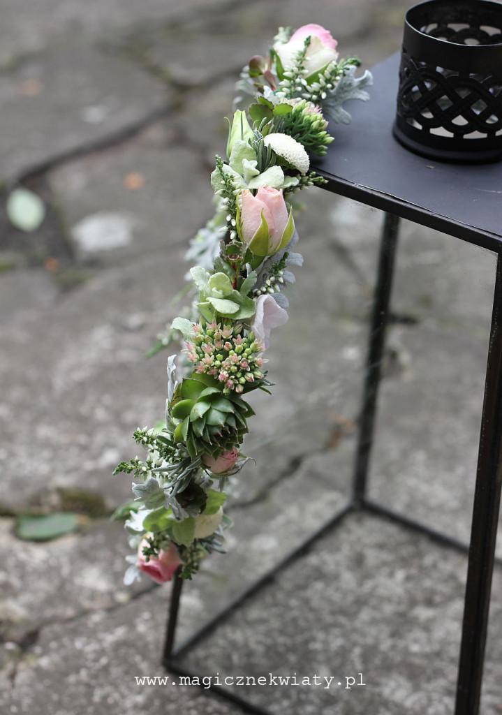 wianek na ślub, wesele, Magiczne Kwiaty, Kraków3