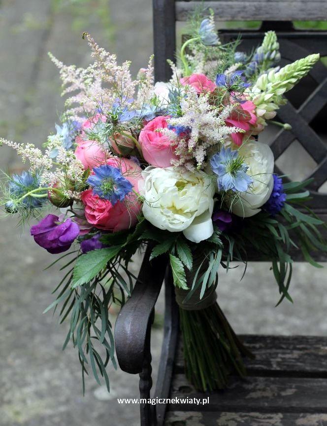 bukiet ślubny, krakow, rożowy, pastelowy, biały, pudrowy
